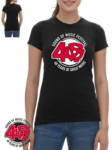 SOM - Ladies Limited 40th Anniversary T-shirt