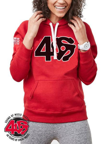 SOM - Adult Pullover Hoody, Unisex - Red