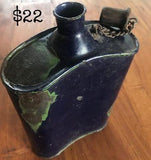 Military Tin Water Flask