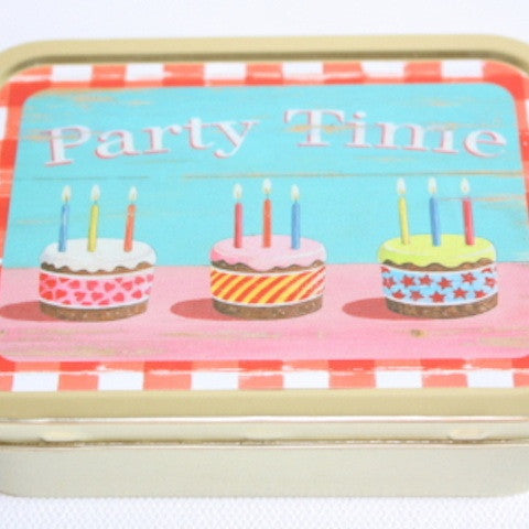 'Party Time' Tin