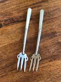 Sterling Silver Pickle Forks: 1903