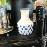 Blue & White Crackle Vase