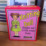 Retro Knitting Doll: French knitting kit