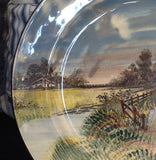 Royal Doulton Display Plate: English Cottages