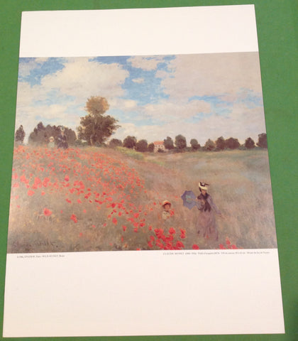 Monet: Field of Poppies