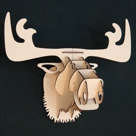 Wood Trophy: Small Moose
