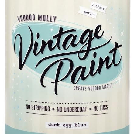 Voodoo Molly Vintage Paint - Greens and naturals