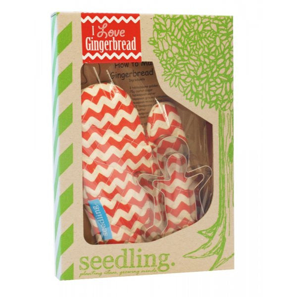 Seedling: I Love Gingerbread! baking kit for kids