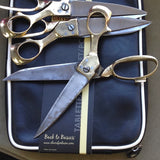 Brass & Steel Mengal Tailors Scissors: hand crafted