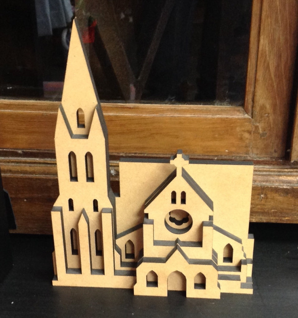 Wooden Model: Christchurch Cathedral