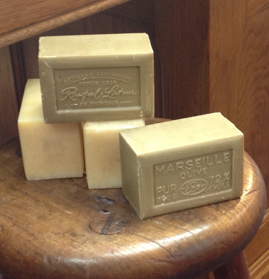 Large Bar of Scented French Marseille Soap: delicious!