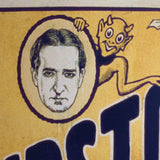 Magician's Promotional Sign: Howard Thurston