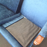 1960s Parker Knoll Wingback Couch: restored