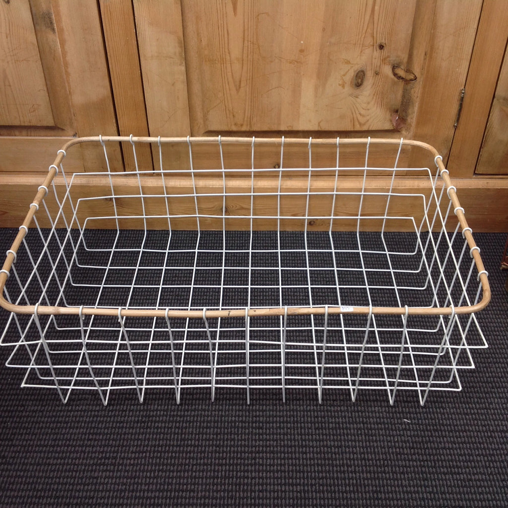 Funky U0026 Functional Coated Wire Basket: Storage Solution