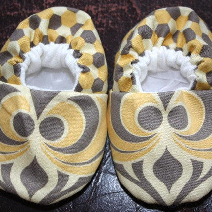 Cool Crib Baby Shoes: Lemon