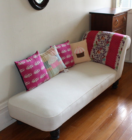 Vintage Daybed Chaise: Sold
