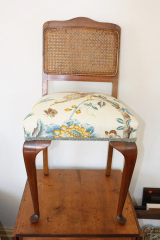 Queen Anne Rattan Chair