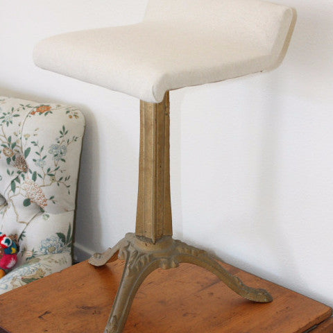 Decorative Cast Iron Stool