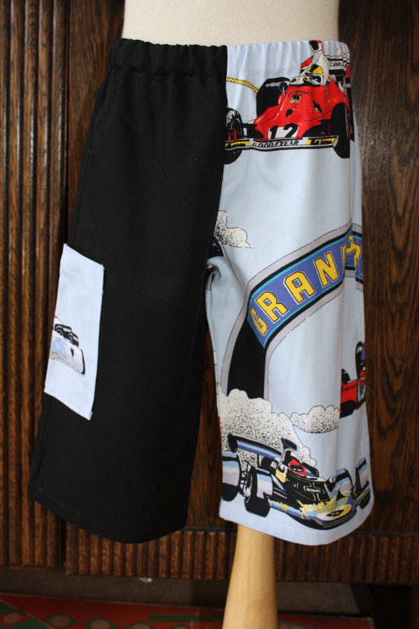 """Grand Prix"" Racing Car Boys' Shorts - size 2"
