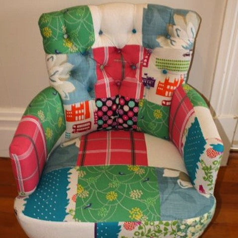 Patchwork Tub Chair