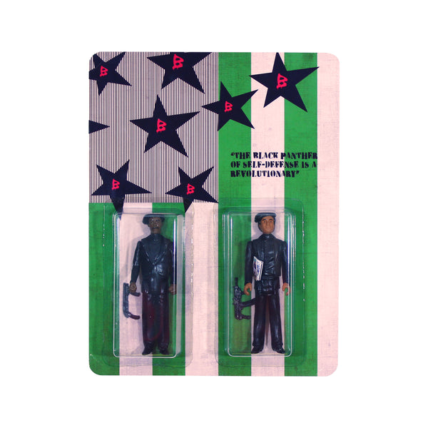 Huey P Newton & Bobby Seale Action Figure Set