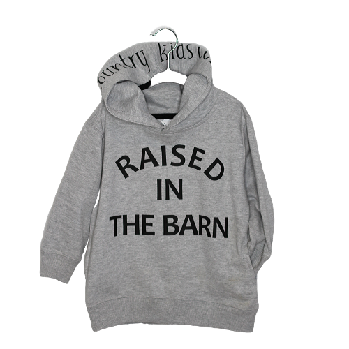Raised in the Barn Fleece Pullover Youth
