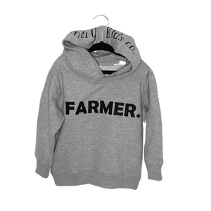 Farmer Fleece Pullover Adult Unisex