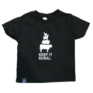 Keep It Rural Toddler Tees