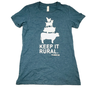 Teen Tees - Keep it Rural