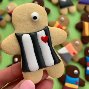 Collingwood Magpies player cookies (12 cookie set)