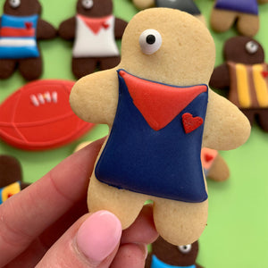 Melbourne Demons player cookies (12 cookie set)