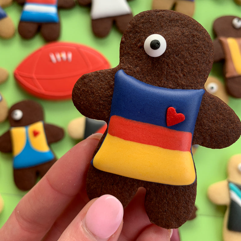 Adelaide Crows player cookies (12 cookie set)