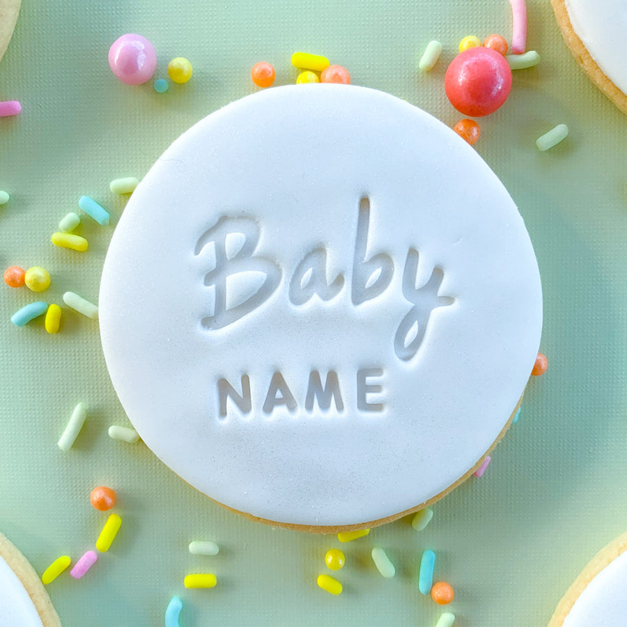 Peppa Lane Bakery Baby Celebration cookies five top view