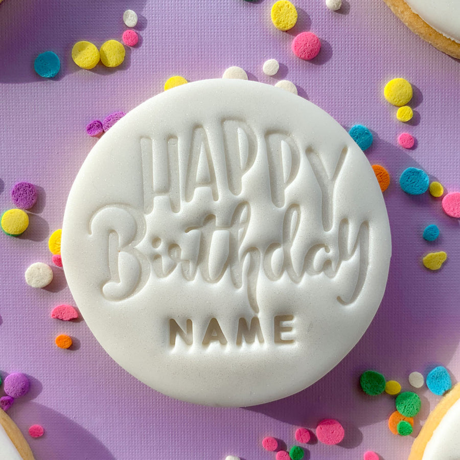 Peppa Lane Bakery Happy Birthday cookies top five view