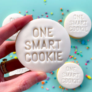 Peppa Lane Bakery One Smart Cookie held in hand