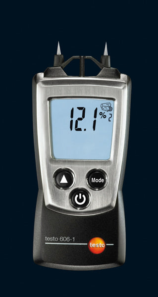 testo 606-1 moisture meter incl. protection cap, batteries and calibration protocol - 0560 6060