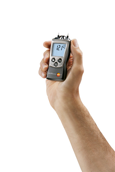 Wood & material humidity meter with integrated humidity measurement & thermometer - 0560 6062