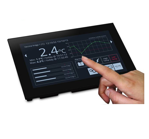 "7"" Display with Analogue, Digital, PWM, and Serial Interfaces - SGD 70-A"