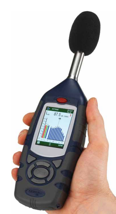 Precision Integrating Octave Band Sound Level Meter (Class 1)