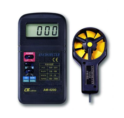 Pocket Digital Anemometer - AM4200