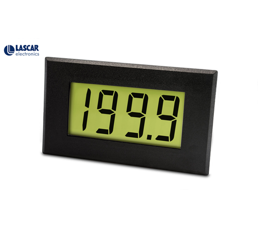 Large 200mV LCD Single Rail Voltmeter with LED Backlighting - DPM 950S