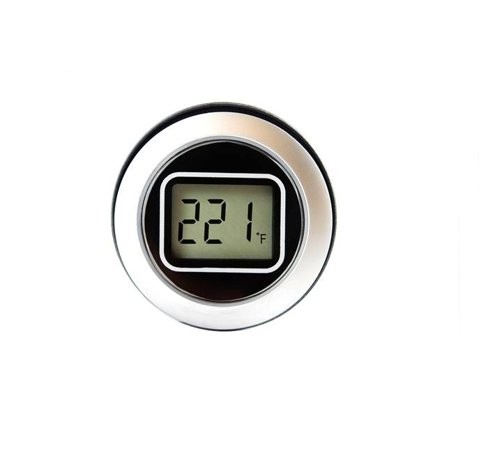 Round Hole Mounting LCD NTC Thermometer - EM32-1900
