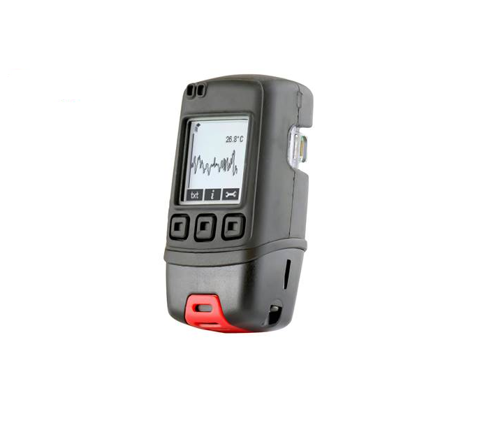 Temperature Data Logger with Graphic Screen and Audible Alarm with Temperature Calibration Certificate - EL-GFX-1 CAL-T