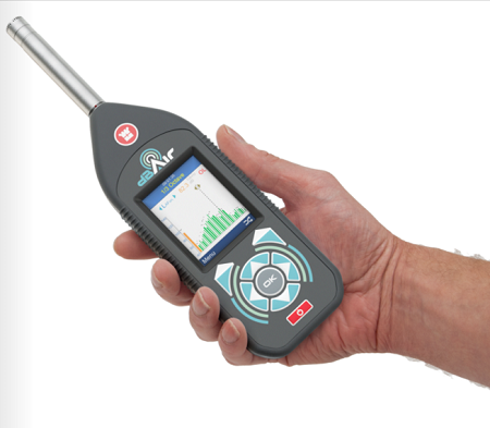 dBAir Safety Sound Level Meter Class 2