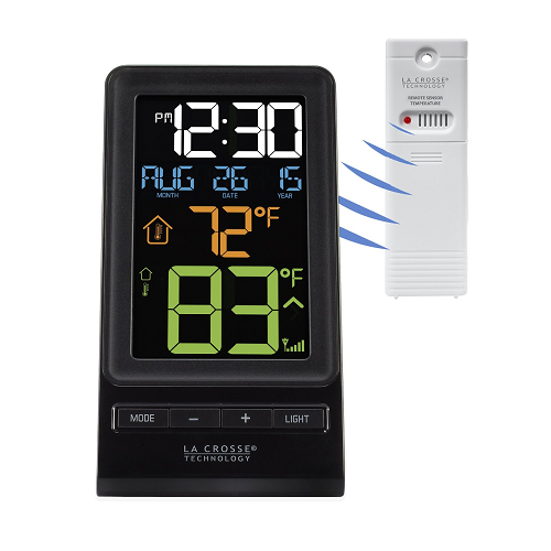 La Crosse Digital, Wireless Thermometer and Clock - 308-1415