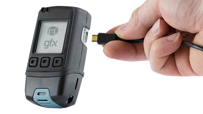 Temperature and Humidity Data Logger with Graphic Screen andAudible Alarm with Calibration Certificate - EL-GFX-2 CAL-T/H