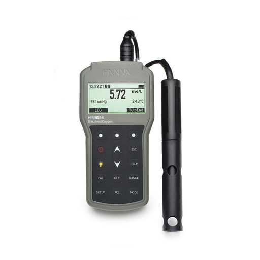 Waterproof Portable Dissolved Oxygen And Bod Meter - HI98193