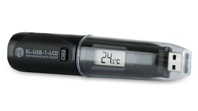 Temperature Data Logger with LCD - EL-USB-1-LCD
