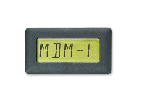 PIC based 5-digit multi function display module
