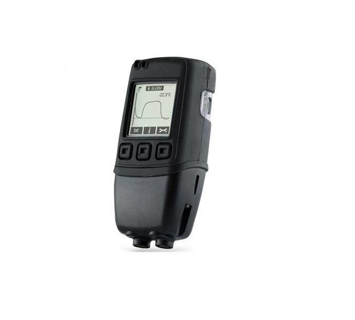 Dual Channel Temperature Probe Data Logger with Graphic Screen - EL-GFX-DTP
